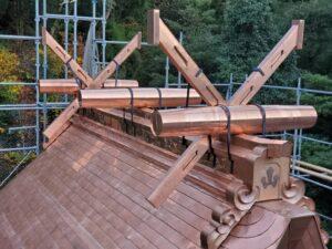 銅板屋根!