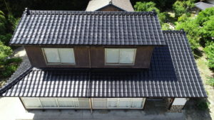 松江市 T様邸 セメント瓦塗装工事
