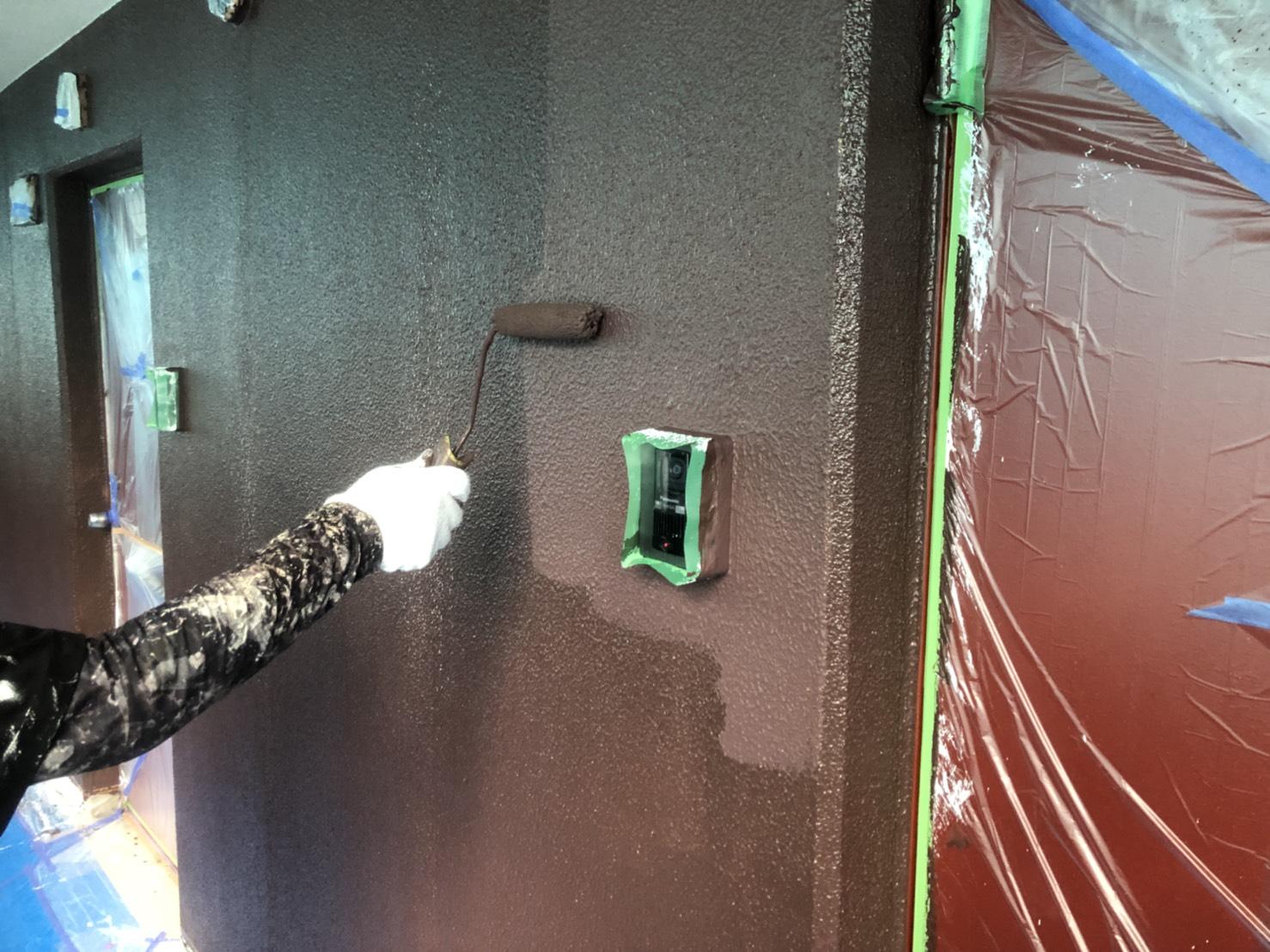 マンション塗装。塗替え。松江市住宅塗替え工事。