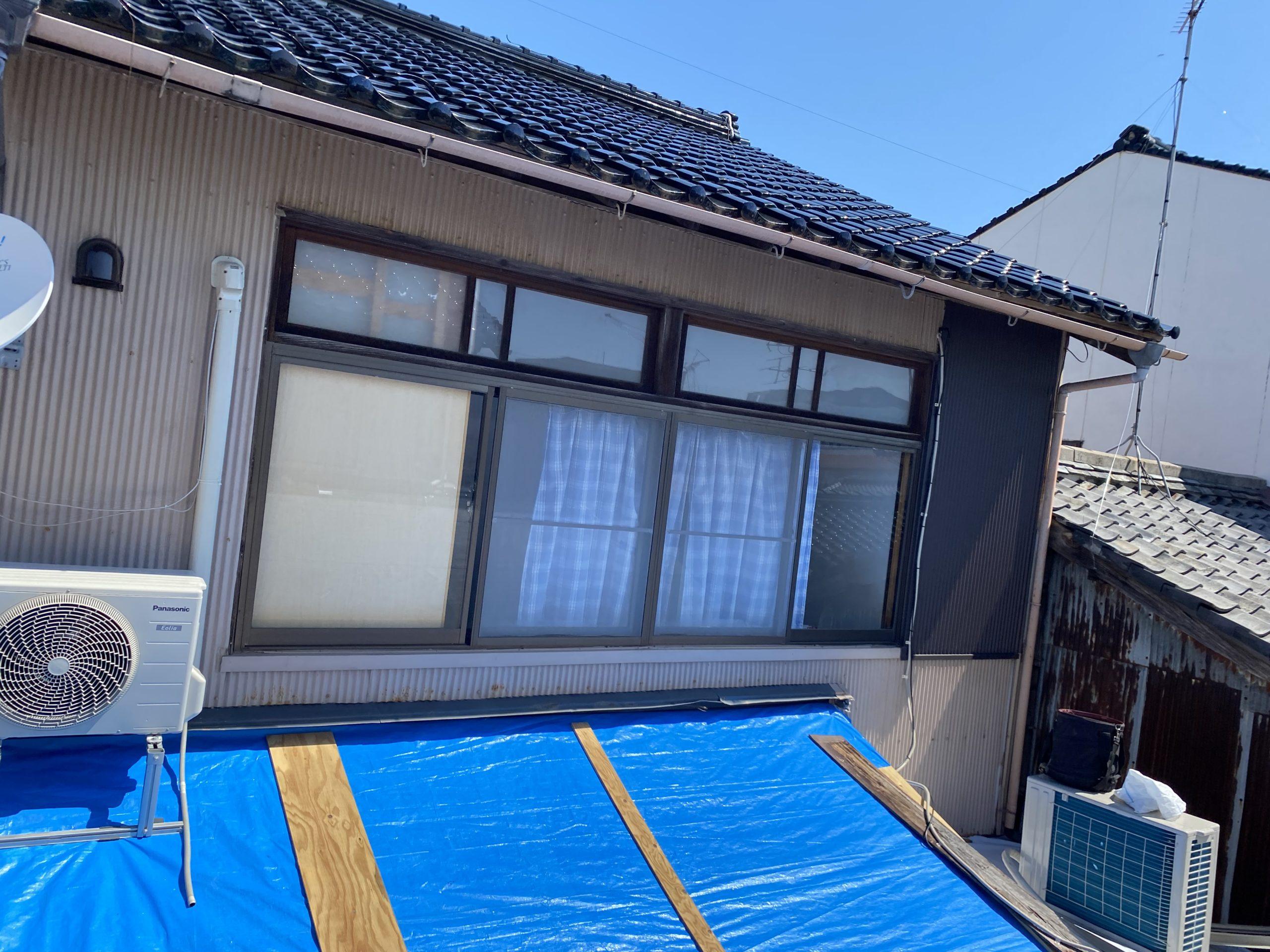 鉄板屋根葺き替え工事