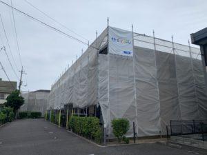 米子市アパート屋根・外壁リフォーム工事