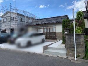 松江市外構工事