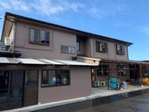 民宿N様 屋根・外壁リフォーム工事